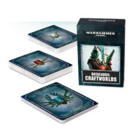 Games Workshop Warhammer 40,000 8th Edition Datacards Xenos: Aeldari Craftworlds