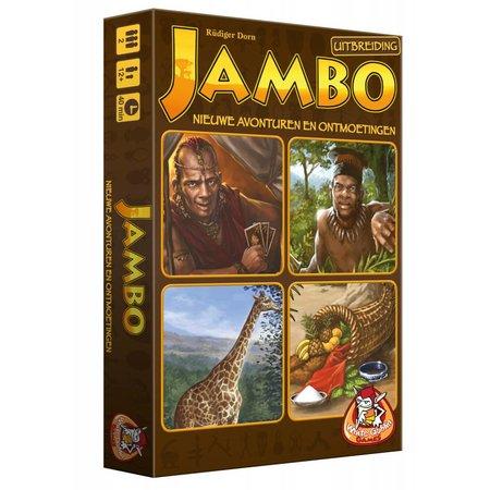 White Goblin Games Jambo: Nieuwe Avonturen en Ontmoetingen - Uitbreiding