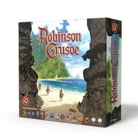 Portal Games Robinson Crusoe: Adventures on Cursed Island *