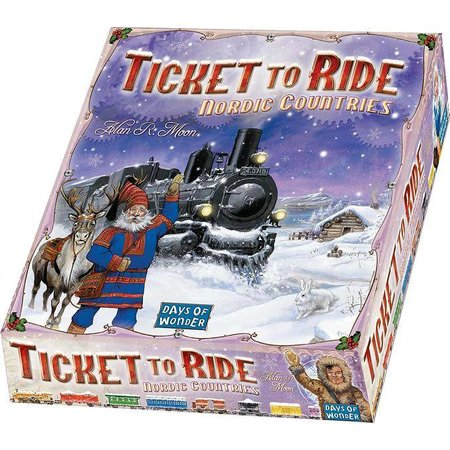 Days of Wonder Ticket to Ride - Nordic Countries (Eng)