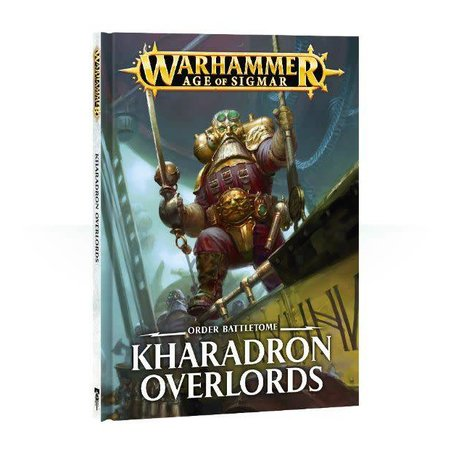 Games Workshop Age of Sigmar 2nd Edition Rulebook Order Battletome: Kharadron Overlords (SC)