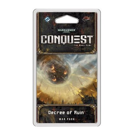 Fantasy Flight Warhammer 40.000 Conquest: Decree of Ruin (Eng) - Uitbreiding