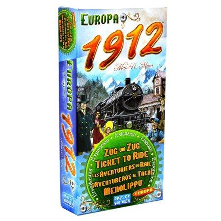 Days of Wonder Ticket to Ride - Europa 1912 - Uitbreiding