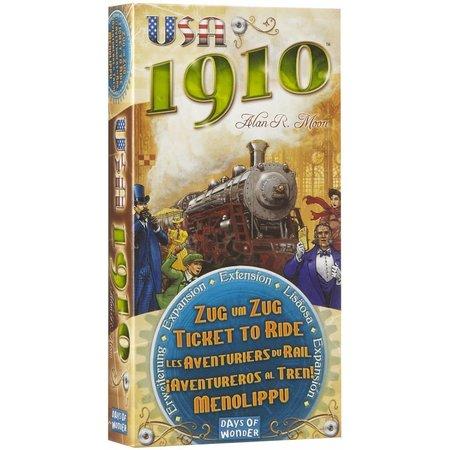 Days of Wonder Ticket to Ride USA 1910 uitbreiding