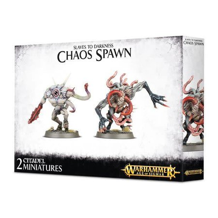 Games Workshop Age of Sigmar/Warhammer 40,000  Daemons of Chaos: Chaos Spawn (AoS Box)