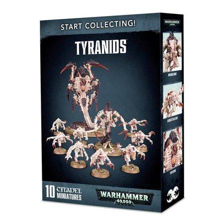 Games Workshop Warhammer 40,000 Xenos Tyranids Start Collecting Set