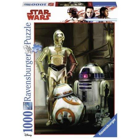 Ravensburger Star Wars C-3PO, R2-D2 & BB-8 (1000)
