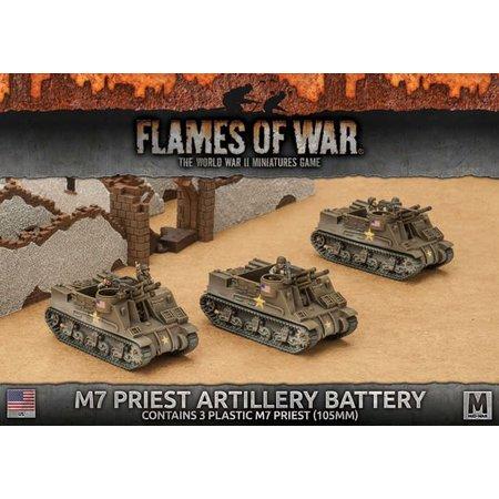 Battlefront FOW 4.0: M7 Priest Artillery Battery (plastic)