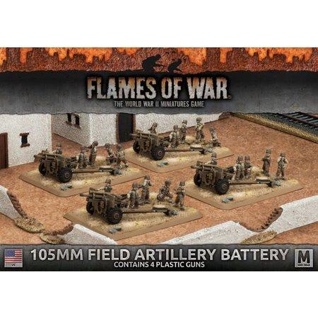 Battlefront FOW 4.0: 105mm Field Artillery Battery