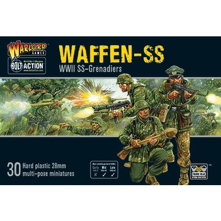 Warlord Games Bolt Action: Waffen-SS (plastic)