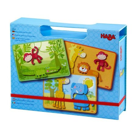 Haba Magnetic Games Dierensafari