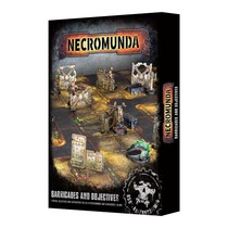 Necromunda: Barricades and Objectives