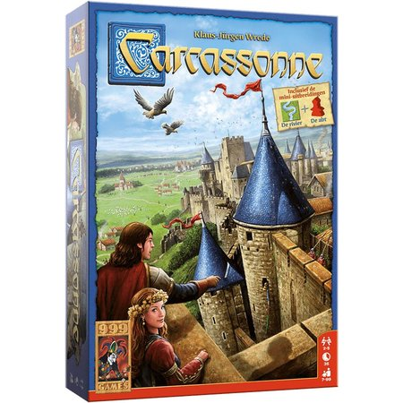 999-Games Carcassonne (nieuwe editie)