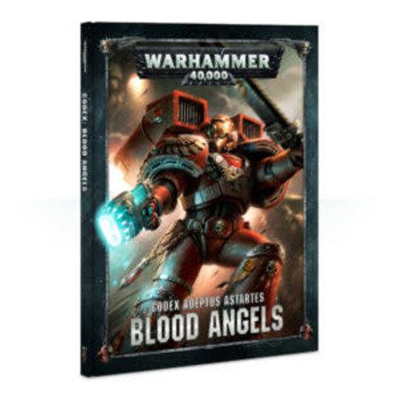 Games Workshop Warhammer 40,000 8th Edition Rulebook Imperium Codex: Blood Angels (HC)