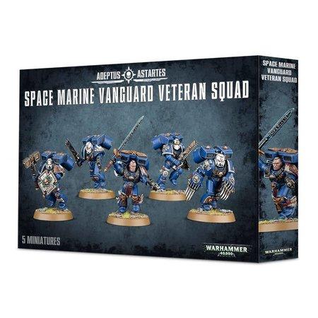 Games Workshop Warhammer 40,000 Imperium Adeptus Astartes Space Marines: Vanguard Veteran Squad
