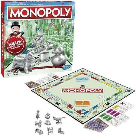 Hasbro Monopoly: Standaard Euro Edition Nieuwe Pionnen