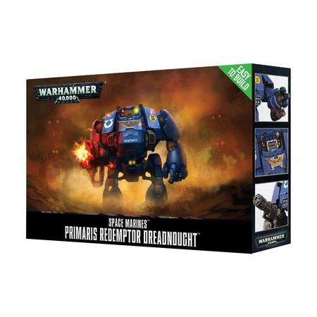 Games Workshop Warhammer 40,000 Imperium Adeptus Astartes Space Marines: Primaris Redemptor Dreadnought (Easy to Build)