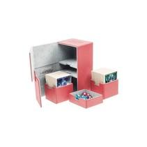 Ultimate Guard Twin Flip ́n ́Tray Deck Case Xenoskin 200+ Red