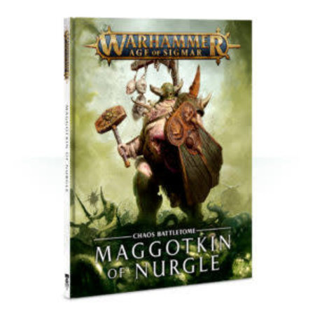 Games Workshop Age of Sigmar 2nd Edition Rulebook Chaos Battletome: Maggotkin of Nurgle (HC)