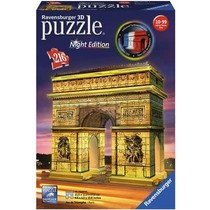 3D Puzzle: Arc de Triomphe Night Edition (216)