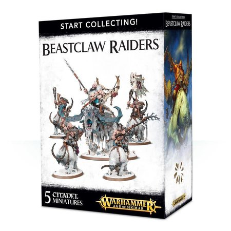 Games Workshop Age of Sigmar Ogors Beastclaw Raiders Start Collecting Set