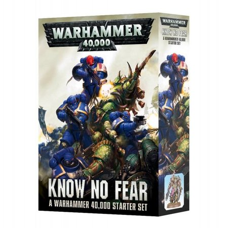 Games Workshop Warhammer 40,000 8th Edition Starter Set: Know No Fear