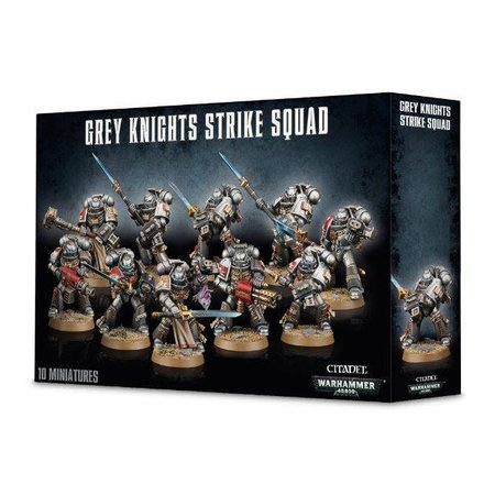 Games Workshop Warhammer 40,000 Imperium Adeptus Astartes Grey Knights: Strike Squad