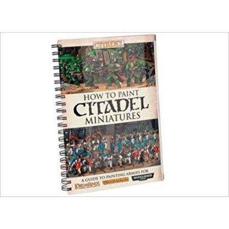 Games Workshop How to Paint Citadel Miniatures (zonder Dvd)