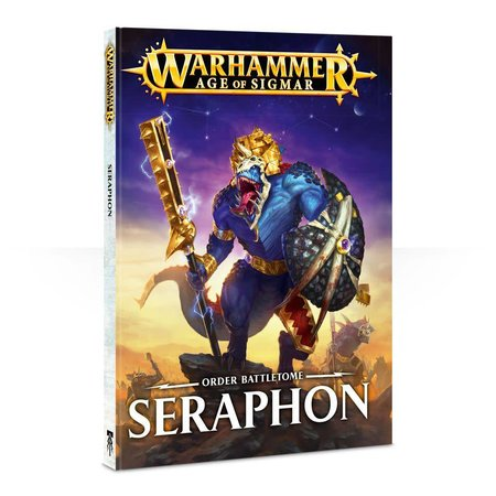 Games Workshop Age of Sigmar 2nd Edition Rulebook Order Battletome: Seraphon (HC)