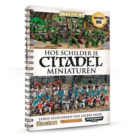 Games Workshop Hoe Schilder je Citadel Miniaturen (+Dvd)
