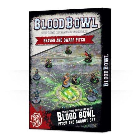 Games Workshop Blood Bowl: Skaven and Dwarf Pitch