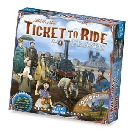 Days of Wonder Ticket to Ride - France (Mapp Collection 6)