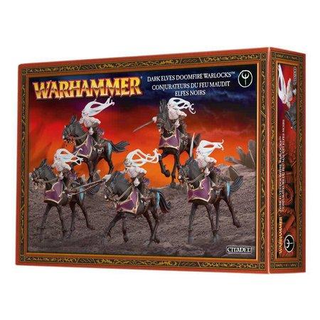 Games Workshop Age of Sigmar Aelves Daughters of Khaine/Shadowblades: Dark Riders/Doomfire Warlocks