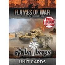 Mid War Afrika Korps Unit Cards