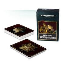 Warhammer 40,000 8th Edition Datacards Imperium: Adeptus Custodes