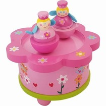Muziekdoos Prinsesje Roze