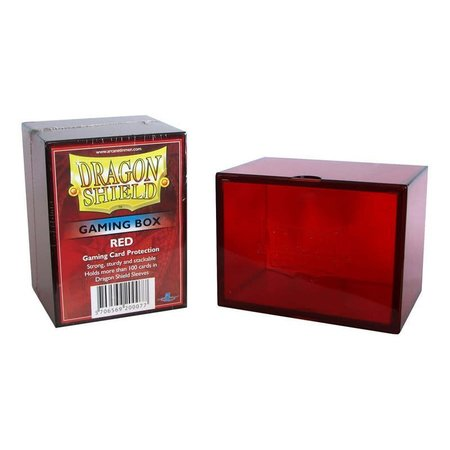Arcane Tinman Dragon Shield Deckbox Red