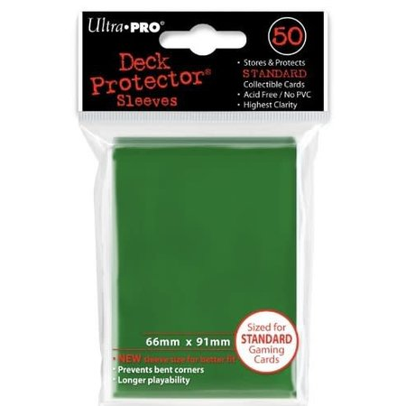 Ultra-Pro Sleeves: Green (50)