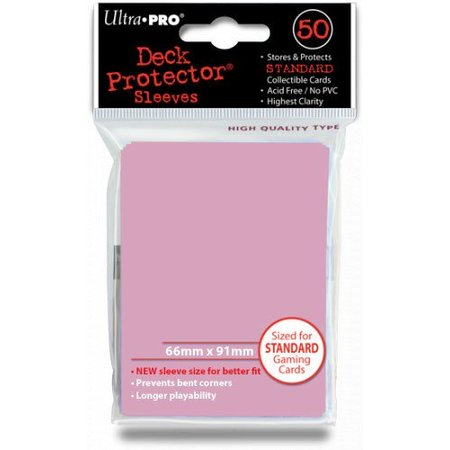 Ultra-Pro Sleeves Pink (50)