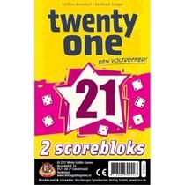 Twenty One (21) Scoreblok