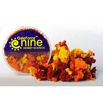 Hobby Round: Autumn 3 Color Clump Foliage Mix