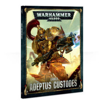 Warhammer 40,000 8th Edition Rulebook Imperium Codex: Adeptus Custodes (HC)