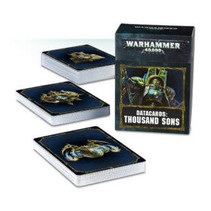 Warhammer 40,000 8th Edition Datacards Chaos: Heretic Astartes Thousand Sons