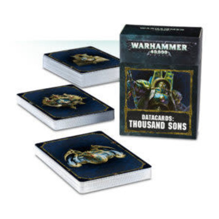 Games Workshop Warhammer 40,000 8th Edition Datacards Chaos: Heretic Astartes Thousand Sons