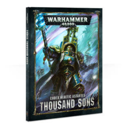 Games Workshop Warhammer 40,000 8th Edition Rulebook Chaos Codex: Heretic Astartes Thousand Sons (HC)