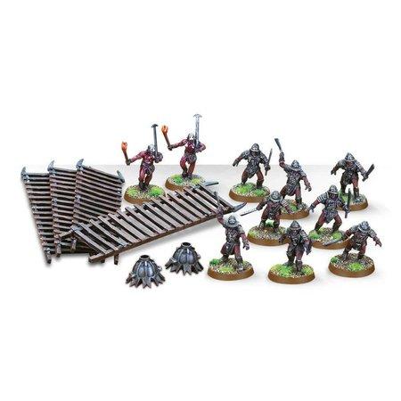 Games Workshop Lotr: Uruk Hai Siege Troops
