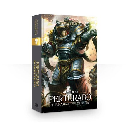 Black Library The Primarchs IV: Perturabo, the Hammer of Olympia