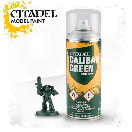 Citadel Miniatures Caliban Green Spray (Primer)