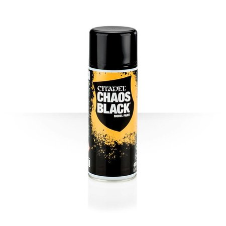 Citadel Miniatures Spray Chaos Black (Primer)
