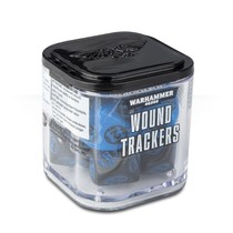 Warhammer 40,000 Dice: Wound Trackers - Blue